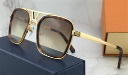 Selling plateS online shopping - The latest selling popular fashion designer sunglasses square plate frame top quality anti UV400 lens with original box
