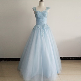 Picture Charts Canada - 2019 New Actual Pictures Ball Gown Quinceanera Dress with Straps Floor Length Glitter Tulle Applique Sequined Beadings Sweet 16 Dresses