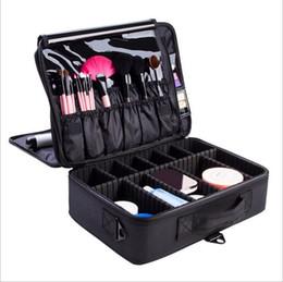 $enCountryForm.capitalKeyWord UK - Hot Selling Professional Makeup Organizer Cosmetic Case Travel Large Capacity Storage Bag Suitcases