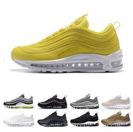e929dd08e7a nike air max 97 Nuevos mens Chaussures 97 Ultra Japan amarillo Triple negro  Zapatillas de running Diseñador mujer Gimnasio rojo Metallic Gold pink  Sports ...