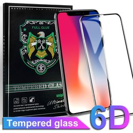 X shield screen protector online shopping - For Iphone X Tempered Glass Screen Protector D Touch Edge H Hardness Anti scratch Shield Full Screen Glass for Iphone X plus