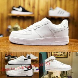on sale bb067 a932f nike air force 1 one airforce shoes new air max off white forces Uomo Donna  Low Cut one 1 scarpe Bianco Nero Dunk Sports Scarpe da skateboard Classic  AF fly ...