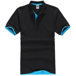 polo xs UK - Plus Size XS-3XL Brand New Men's Polo Shirt Men Cotton Short Sleeve shirt Brands jerseys Mens Shirts polo shirts
