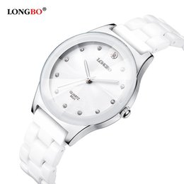 Read top online shopping - Luxury Water Resistant Easy Read Sports Women Ceramic Wrist Watch Top Quality Lady Dress watches Y18102310