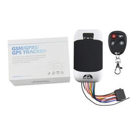Venta al por mayor de Impermeable TK303G Motocicleta Localizador GPS Rastreador Rastreador GPS de coche Coban GPS303G Cortar aceite de motor en tiempo real Web APP Track