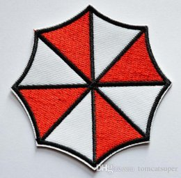 free sew patches Canada - HOT SALL! ~Free Shipping~ Resident Evil Umbrella Iron On Patches, sew on patch,Appliques, Made of Cloth,100% Guaranteed Quality