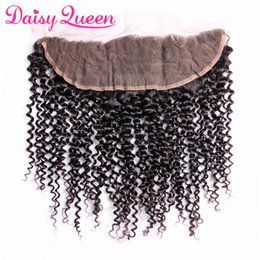 $enCountryForm.capitalKeyWord NZ - 8A Brazilian Curly Hair Lace Frontal Closure 13*4 Free Part Ear to Ear Human Hair Closures Peruvian Indian Malaysian Curly Frontal With Baby