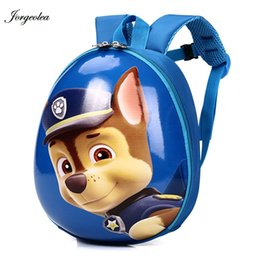 Jorgeolea Solid Eggshell Kid Backpack Children School Bag For 2-6 Years Old  Animal Patterns Kid Shoulders Back Pack 180403 S914 691c85ed2d257