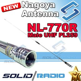 Discount dual band high gain antenna Nagoya NL-770R dual band antenna for QYT KT-8900 KT-8900D mobile radio with High gain 144mhz 430Mhz