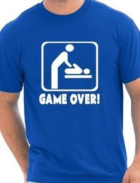 $enCountryForm.capitalKeyWord Canada - Game Over New Baby Dad Daddy New Parent Mens Funny Birthday Gift Size S-XXL
