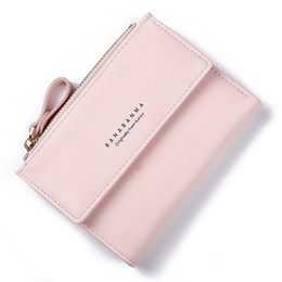 Size Wallet NZ - Small Size Zipper Women Short Style Wallet For Coin Card Cash Fashionable Lady Small Purse Short Female Clutch Wallet