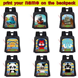 $enCountryForm.capitalKeyWord Canada - Customize Your Name   Logo Bag Cartoon Car   Boat Animal Kindergarten Backpack Kawaii Puppy Children School Bags Kids Book Bag