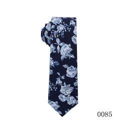 Flowers men wear weddings online shopping - 2019 new fashion Flowers Pattern men s formal business ties Men printing Tie Social Wedding Groom Ties groom wear Accessories
