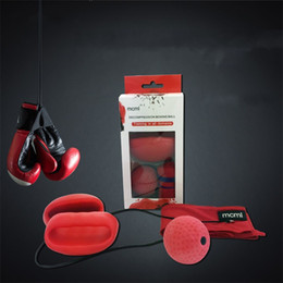 New fightiNg online shopping - Elastic Quick Response Training Balls Fight Back Head Wearing Boxing Training Ball Decompression New Arriver mc C R