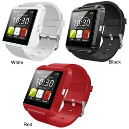 Wholesale Wrist Watch Phone NZ - Bluetooth U8 Smartwatch Wrist Watches Touch Screen For Android Phone Sleeping Monitor Smart Watch With Retail Package