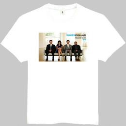 $enCountryForm.capitalKeyWord Australia - White collar t shirt Matt Bomer short sleeve gown Teleplay tees Leisure printing clothing Quality cotton Tshirt