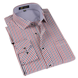 $enCountryForm.capitalKeyWord UK - High quality Men's classic plaid shirt Long sleeve dress shirt men Business formal shirts Mens clothing camisa masculina S917