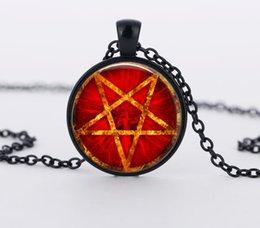 Shop witchcraft pendants uk witchcraft pendants free delivery to 3 colors red stars witchcraft pendant necklace charms jewelry crystal hidden personality pentagram pendants necklaces aloadofball Choice Image