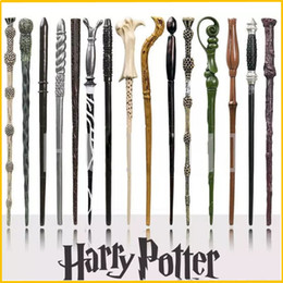 15 Design Harry Potter Magical Wand Dumbledore Hogwarts Wand Cosplay Wands With Gift Box Kids Wand Toys Free Shipping from free magic illusions suppliers