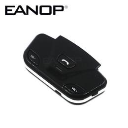 $enCountryForm.capitalKeyWord NZ - EANOP Steering Wheel hands free car wireless - bluetooth car kit with Speaker Mic phone Connect 2 Mobile Phone