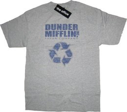 $enCountryForm.capitalKeyWord Canada - Details zu The Office Dunder Mifflin Inc Paper Company Recycle Gray T-shirt Funny free shipping Unisex Casual gift