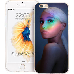 5ac86204f74 Ariana Grande Rainbow Clear Soft TPU Silicone Fundas Cases for iPhone 10 X  7 8 Plus 5S 5 SE 6 6S Plus 5C 4S 4 iPod Touch 6 5 Cover.