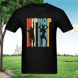 Music Man T Shirt Australia - Hip Hop Dance Music Sing Silhouette T-Shirt Shirt Men New Fashion Men Clothing T-Shirt Tee