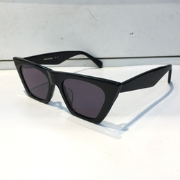 Uv protection mirrored sUnglasses online shopping - Luxury Sunglasses For Women Popular Fashion Designer Goggle Designer UV protection Cat Eye Frame Top Quality Come With Package
