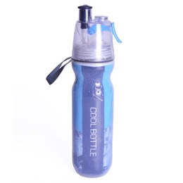 mist spray bottles UK - New 500ML Sport Water Bottle Spray Mist Cycling Outdoor Drinking Portable Cool Gym Sports Multi-purpose Moisturizing bottle Free Shipping