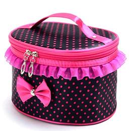 Promotional Cosmetic Bags Wholesale UK - Handle Large Cosmetic Bag Travel Makeup Organizer Case Holder Promotional Bag