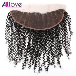 $enCountryForm.capitalKeyWord Australia - 8A Brazilian Virgin Hair Kinky Curly Lace Frontal 1pc Peruvian Curly Hair Frontal Closure Malaysian Ear to Ear Big Closure Indian Human Hair