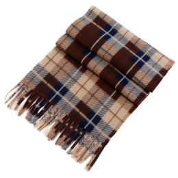 Velvet Scarves Wholesale Australia - Women Men Velvet Plaid Scarf Autumn Winter Cashmere Scarves Wide Lattices Long Shawl Wrap Blanket Warm Classic Tippet 2018