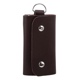 $enCountryForm.capitalKeyWord NZ - PU Leather Key Wallets Men & Women Hasp Pure Car Key Bag Case Fashion Housekeeper Rings Holders Organizer High Quality