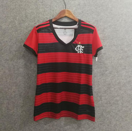 665c94e573d3d Perfecto flamengo casa de las mujeres jerseys de fútbol customi nombre  número GUERRERO 9 DIEGO 35football camisetas thai AAA girl fotbul jerseys