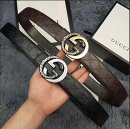 $enCountryForm.capitalKeyWord Australia - Brand designer High quality low price fashion casual man belt Simple and fashion men leather belts belt men luxury belts for gift
