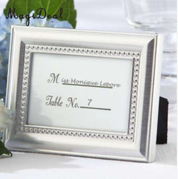 $enCountryForm.capitalKeyWord UK - MagiDeal Small Vintage 2.8 *1 inch Photo Frame Style Place Name Card Wedding Table Card Holder Silver Gold-Great Gifts