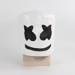 $enCountryForm.capitalKeyWord NZ - Halloween Mask Marshmallow cos Syllable DJ Marshmello With The Same Hood Full Face Mask