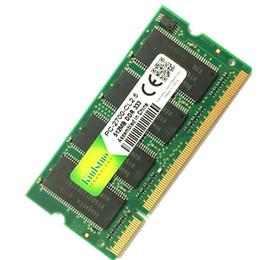 Composants de l'ordinateur Mémoires RAM Kinlstuo mémoire RAM SO-DIMM DDR1 DDR 400 333 MHz / PC-3200 PC-2700 200Pins 512MB 1GB pour Sodimm Notebook