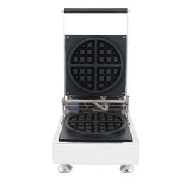 China Commercial Use 110v 220v electric waffle maker machine baker iron plate mould pan in snack equipment suppliers