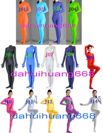 $enCountryForm.capitalKeyWord NZ - Unisex Bodysuit Costumes New 23 Color Lycra Spandex Suit Catsuit Costumes Sexy Body Suit Costumes No Head Halloween Party Cosplay Suit DH107