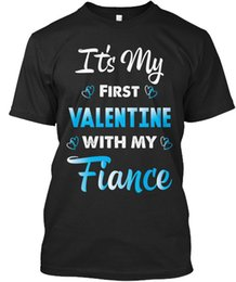 $enCountryForm.capitalKeyWord Canada - Valentine s Day Gift for Fiance Standard Unisex T-Shirt Tee Shirt Men Male Digital Direct Printing Custom Short Sleeve Boyfriend's Big Size