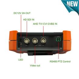 Sdi monitor online shopping - New inch H K IP Camera Tester In CCTV Tester Monitor H K H IP MP TVI MP CVI MP AHD MP SDI Analog CCTV Tester