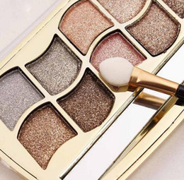$enCountryForm.capitalKeyWord Canada - Professional Eye Makeup 12 Colors Eyeshadow Palette Gold Smoky Cosmetics Makeup Palette Diamond Bright Glitter Eye Shadow