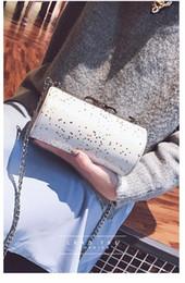 chain style designer clutch 2018 - women leather handbags PU handbag leather women bag patent handbag high quality Designer Clutch Shoulder Bags Bolsa YK34