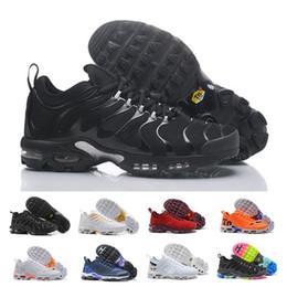 official photos 0c88e 195fd 2018 Hot Men TN Chaussures TNS Plus Air Mode Augmentation de la Ventilation  Baskets Casual Olive rouge bleu noir Baskets
