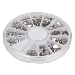 $enCountryForm.capitalKeyWord UK - Nail Tools Nail Art Decoration Acrylic Round 3D Art Gems Crystal Rhinestones DIY Decoration Wheel Drop shipping Dot9