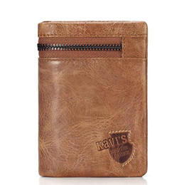 $enCountryForm.capitalKeyWord NZ - Hengsheng lowest price genuine leather men short wallet with top quality cow leather vertical men wallet for fashion lady short wallet