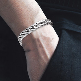 6b83ebb3c8aa9 Used fashion jewelry online shopping - Stainless Steel Chain Bracelet New  Men S Fashion Jewelry Creative