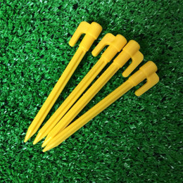 Wholesale Beach Tent Peg Nail Stake with Rope Camping Equipment Outdoor cm Traveling Tent Nail Building Outdoor Gadgets mk365