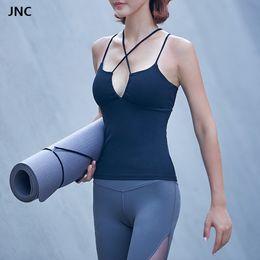 sexy yoga pants for women 2018 - 2017 Women Sweaty Betty Yoga Tank Top Bra Shirts Sexy Seamless Padded Sports Bra Goddess Yoga Top Shirts for Female disc